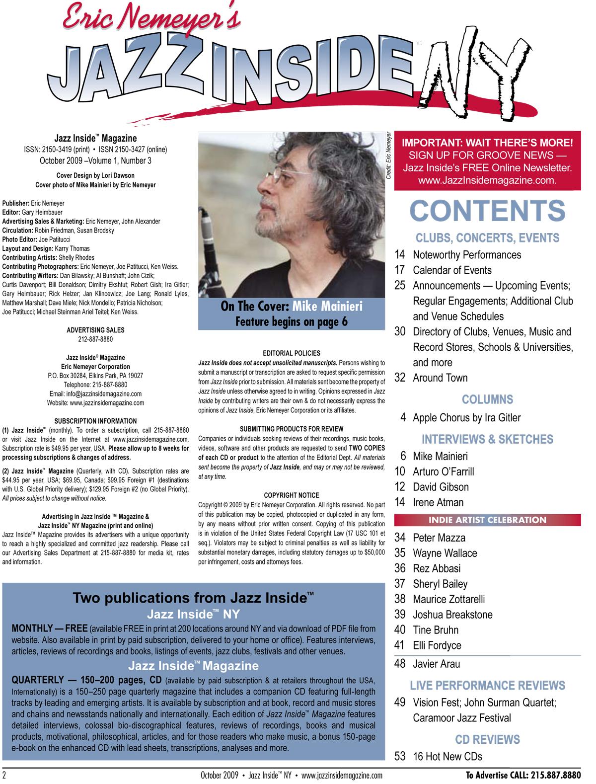 Press and Testimonial Reviews - New York Jazz Academy